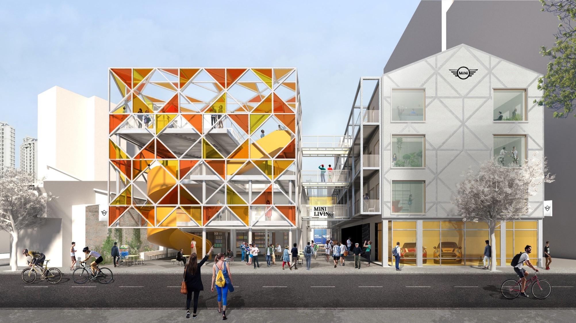 미니(2) : 자동차 회사가 도시에 건물을 짓는 이유