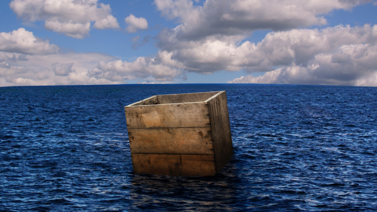 땅이 불편하면물 속에 저장한다